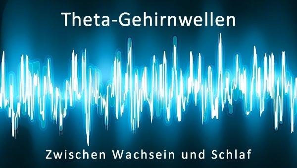 wachsein schlaf theta gehirnwellen