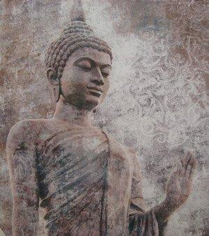 Dies ist der erste (historische) Buddha. Später folgten noch viele Weitere.