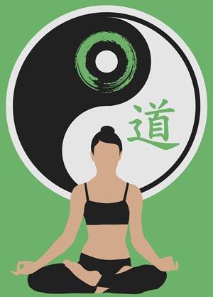 Das Yin & Yang Symbol zeigt, dass Gutes nur in Verbindung mit Schlechtem existieren kann (Polartität).