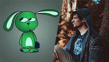 Rechts sieht man ein Bild von Manuel Haase (Autor des Gastartikels) und links davon sein Kanal-Logo.