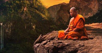 Eine gute Wahl des Meditationsortes kann die Motivation und damit auch den Erfolg fördern.
