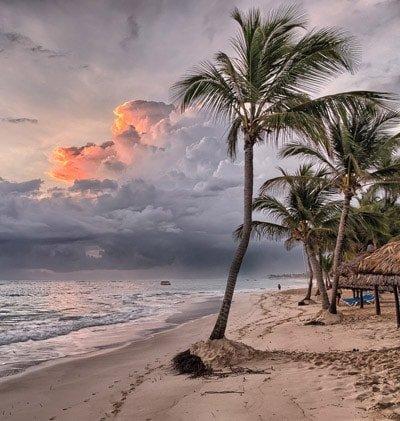 Stelle dir vor, du träumst von einem wunderschönen Strand.