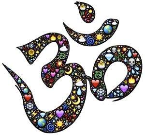 astral/luzid - hinduistische zeichem om