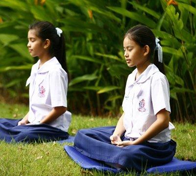 meditation schüler