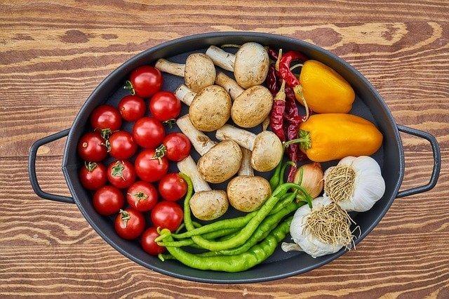 Gesunde ernährung für drittes auge