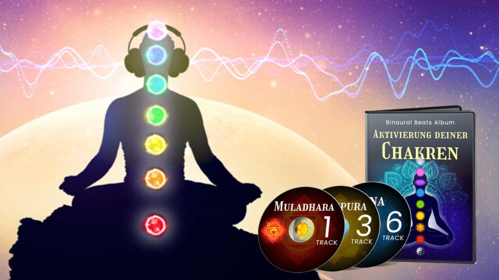 Chakra Album mit Binaural Beats